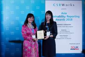 Pertamina EP Asset 4 Cepu Menangi Asia Sustainability Reporting Awards 2018