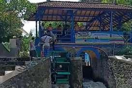 Objek Wisata Tukad Bindu Hasilkan Listrik 7.500 Watt