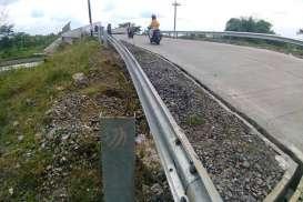 Baut Pagar Overpass Jalan Tol Boyolali Juga Dicuri, untuk Apa Sih!