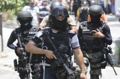 Dua Terduga Teroris Diciduk Densus 88 di Yogyakarta
