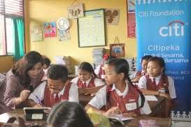 Citi Indonesia Gelar Literasi Keuangan bagi Siswa SD