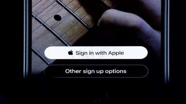 """Apple Paksa Developer Tempatkan Tombol """"Sign in With Apple"""" Paling Atas"""