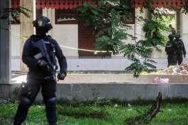 2 Rumah Kontrakan Terduga Teroris Sukoharjo Digeledah Densus