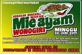 Gerakan Makan Mi Ayam Wonogiri Minggu 30 Juni, Video Viral Pemicunya