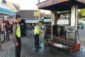 Pom Bensin Mini di Ponorogo Terbakar, Pemilik Luka-luka