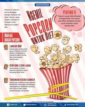 Rahasia Popcorn, Camilan untuk Diet Sehat
