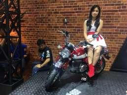 Godaan Big Bike di Booth Honda GIIAS 2019