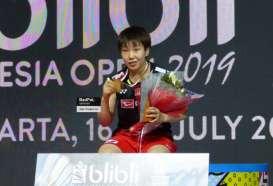 Raih Gelar Indonesia Open 2019, Tunggal Putri Jepang Ini Tersanjung Dukungan Penonton Istora