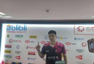 Kalahkan Antonsen, Ini Tunggal Putra Taiwan Pertama yang Juara di Indonesia Open