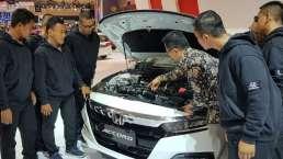 Honda Kenalkan Teknologi Otomotif Baru ke Siswa SMK