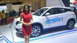 Mobil Listrik DFSK Glory E3 Sudah Bisa Diproduksi di Indonesia