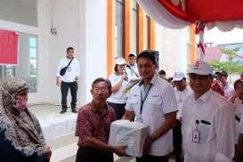 Antam, Jasindo, dan Indofarma Sumbangkan Hasil Pasar Murah ke Sarana Ibadah