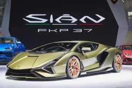 Lamborghini Pamer Supercar Hybrid Perdana, Sián FKP 37