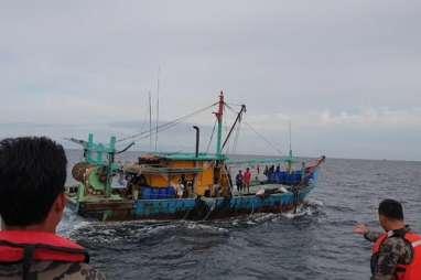 KKP Kembali Tangkap Kapal Ikan Asal Malaysia di Selat Malaka