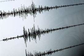 Kamis subuh, Gempa Magnitudo 3,4 Guncang Ambon