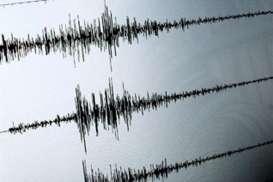 Senin dinihari, Gempa M 5,2 Guncang Bolaang Mongondow