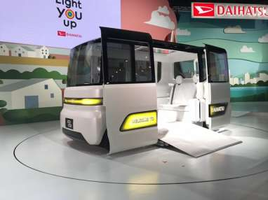 LAPORAN DARI TOKYO MOTOR SHOW : Daihatsu Kenalkan 4 Mobil Konsep Masa Depan