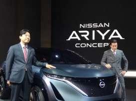 LAPORAN DARI TOKYO MOTOR SHOW : Ini Profil Mobil Listrik Nissan Ariya