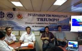 Riset Laut Dalam, LIPI Melepas 50 Peneliti Arungi Perairan Nusantara