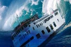 Kapal Tenggelam di Perairan Makassar, Ini Nasib Awak Kapal dan Muatannya