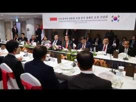 Di Depan CEO Korsel, Jokowi Pamerkan Pemangkasan Regulasi dan Birokrasi