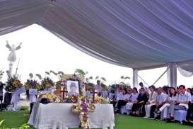 Foto-foto Pemakaman Ciputra di Memorial Park Citra Indah Bogor