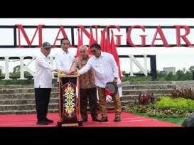 Resmikan TPA Manggar, Jokowi: Ini Terbaik di Indonesia
