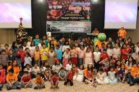 Harris Hotel Sentraland Semarang Undang 150 Anak Yatim Rayakan Natal