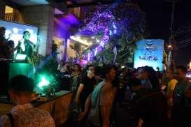 Ratusan Pengunjung Hadiri Pesta Tahun Baru di Noormans Hotel Semarang