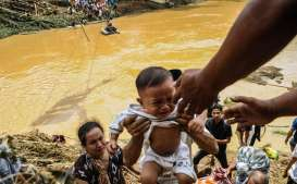 RNI Salurkan Bantuan ke 6 Kabupaten/Kota Terkena Banjir