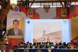ITB Anugerahkan Doktor HC untuk Jusuf Kalla