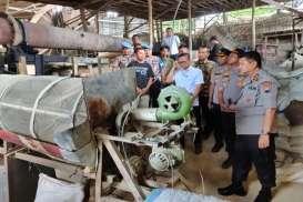 Pabrik Pupuk Palsu di Wonogiri dan Gunung Kidul Produksi Ratusan Ton