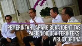Pemerintah Larang Buka Identitas Pasien Diduga Terinfeksi Virus Corona