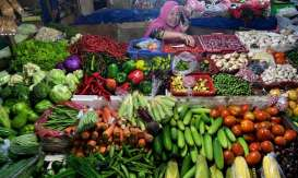Penjual Sayur di Solo Go Online Layani Pelanggan