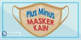 Wajib Pakai Masker, Ini Plus Minus Masker Kain