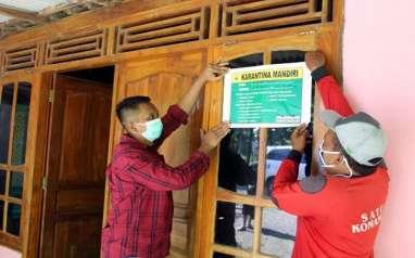 Rumah Pemudik di Sambungmacan Dipasangi Stiker Khusus