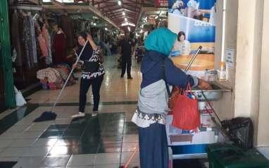 Dampak Corona: Pedagang Pasar Kota Jogja Dapat Diskon Retribusi 75 Persen