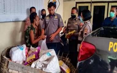 Pemulung Terpaksa Curi Gabah di Sawah Demi Makan Keluarga