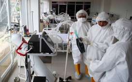 Rumah Sakit Darurat Wisma Atlet Rawat Inap 840 Pasien Covid-19