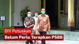 Sultan: PSBB belum Tentu Solusi Terbaik untuk Atasi Corona di DIY