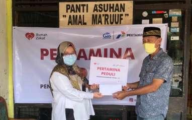 Gandeng Yayasan Rumah Zakat, Pertagas Kembali Salurkan Bantuan di Tengah Covid-19