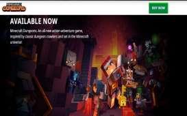 Minecraft Dungeons Resmi Diluncurkan, Pengembangan Gim Laris oleh Microsoft