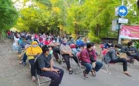 Minat Warga Surabaya Ikuti Rapid Test Covid-19 Tinggi