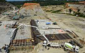 Pembangunan Bendungan Cipanas Ditargetkan Selesai 2022