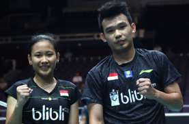Rinov/Pitha vs Akbar/Winny di Semifinal PBSI Home Tournament