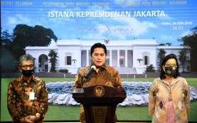 4 Bulan Corona di Indonesia, 4 Bulan Penuh Gebrakan dari Erick Thohir