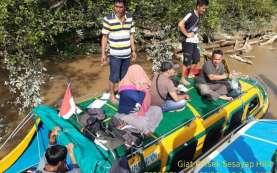 Perahu Motor Terbalik di Kalimantan Utara, Belasan Penumpang Selamat