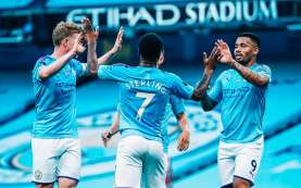 Hasil Man City Vs Liverpool: City Hancurkan Liverpool, Sterling Dua Gol
