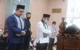 Didampingi JK, Gubernur Anies Resmikan Masjid Amir Hamzah di Kawasan TIM