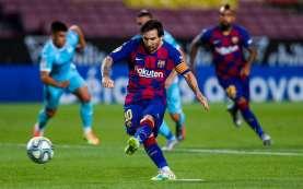Setien Menganggap Kepergian Messi dari Barcelona Tidak Berdasar